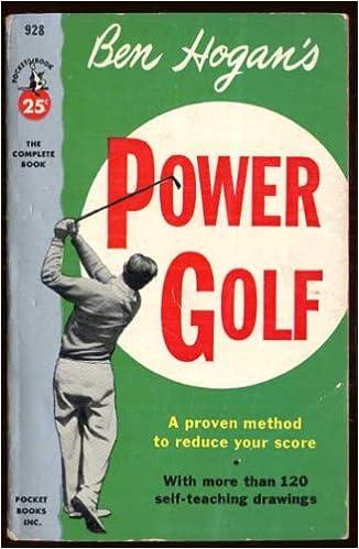 2ben hogan power golf