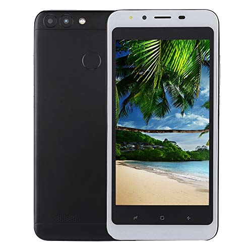 Bewinner 5.0″ Dual SIM Smartphone, 2GB RAM 16G Memory, 3G Dual Core, 2.0MP / 2.0MP Dual Camera, Face Recognition Function, 3000Mah Lithium Ion Battery, Android 6.0 Smart Mobile Phone(US)