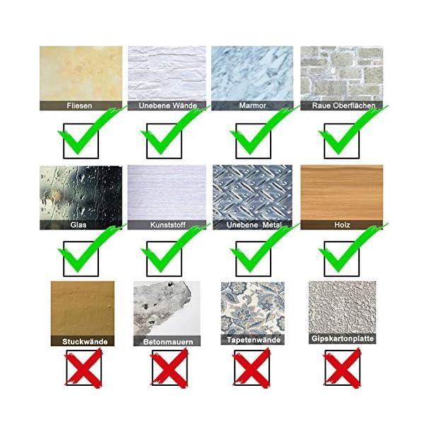 51bPgFGZX%2BL Handtuchhalter ohne bohren, 5 Stück Handtuchhaken Kleiderhaken Wand, Edelstahl Wandhaken Garderobenhaken, Rostfrei Haken…