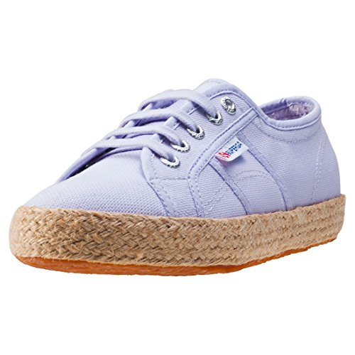 Superga 2750 Rope Womens Trainers - Violet (Large Image)