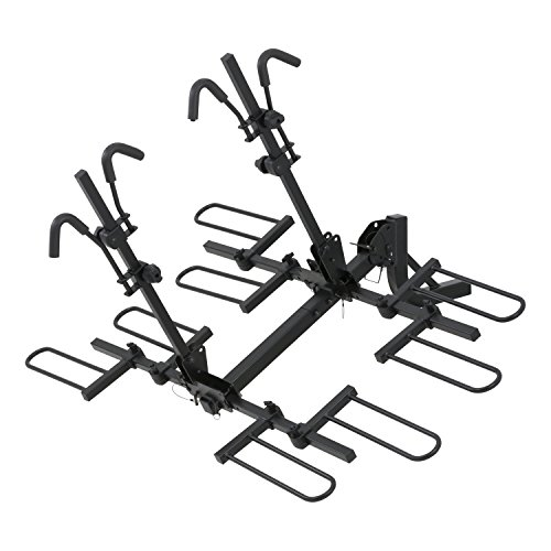 CURT 18086 Tray-Style Hitch-Mounted Bike Rack