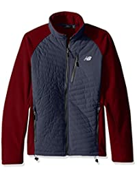 New Balance Men's Fleece with Quilted Dobby