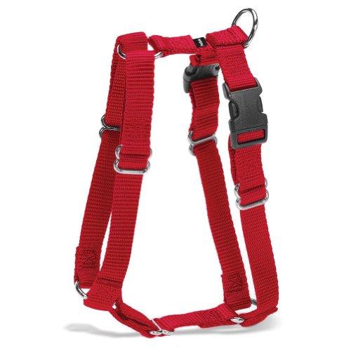 Premier Pet Pet Sure Fit 3/8-Inch Petite Harness, Red