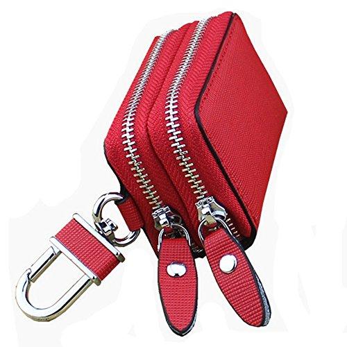 Eysee - Cartera de mano para mujer rojo rosa 7.8cm*5cm*3.2cm rojo
