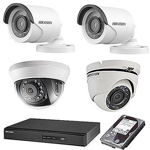 最安価格 HIKVISION(ハイクビジョン) 防犯カメラセット 5年保証 セット 監視カメラ × × 4台(243万画素フルハイイビジョン)+2TB HDD 屋外内用 TVI-SET6-C4-2TB 小型 スマホ対応 録画機能付き 4CH 防犯カメラ セット 9点セット 日本語マニュアル付き 屋外2屋外ドーム1屋内ドーム1 TVI-SET6-C4-2TB B074Z6387Q, 釜石市:b63726b4 --- trainersnit-com.access.secure-ssl-servers.info