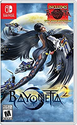 Bayonetta 2 (Physical Game Card) + Bayonetta (Digital Download) - Nintendo Switch by Nintendo