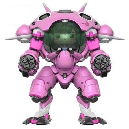 "Funko POP Games: Overwatch D.VA & Meka 6""  POP and Buddy  Toy Figure"