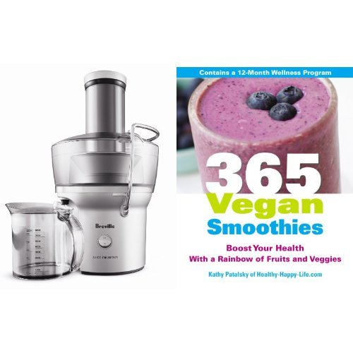 Juice To Boost Your Health: Juicer and Cookbook Bundle