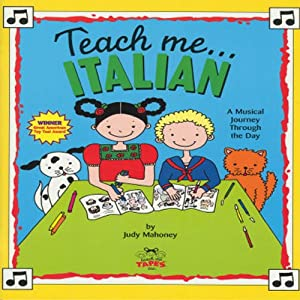 Teach Me Italian Audiobook