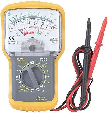 Kt7005 Analog Multimeter Ac Dc Analog Multimeter Hoch Präzision Multimeter Mit Schutzabdeckung Analog Multimeter Spannungswiderstand Zeiger Baumarkt