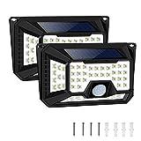 66 LED 650LM Solar Motion Sensor Light Outdoor, Wireless Motion Solar Lights Outdoor Waterproof, Led Solar Lights Outdoor Motion Sensor(Pack of 2)