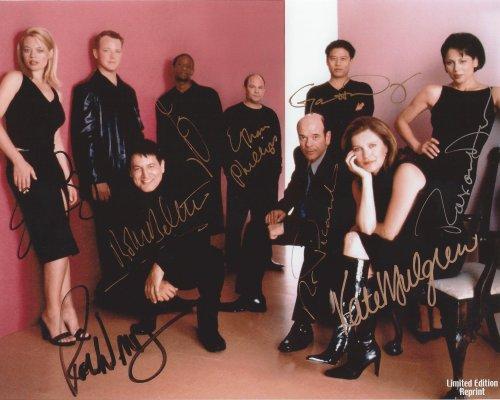 Star Trek Voyager Cast Casual Attire Signed Autographed 8x10 Photo Reprint