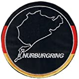 Nurburgring iron-on/sew-on cloth patch (os)