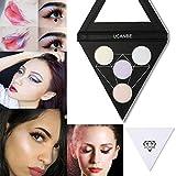 Best UCANBE Glitter Eyeshadows - Putars Woman Sexy High light Glitter Eyeshadow Palette Review