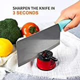 Knife Sharpeners, Mini Knife Sharpener with Suction