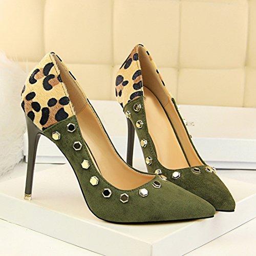 Green 5 8 Femme DS1717 Sandales 36 Vert Miyoopark Compensées MiyooparkUK SvwzqR