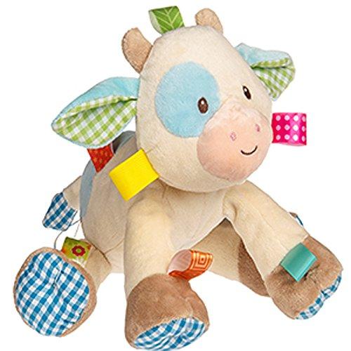 51bPloxCxAL - Mary Meyer Taggies Casey Plush Toy, Cow