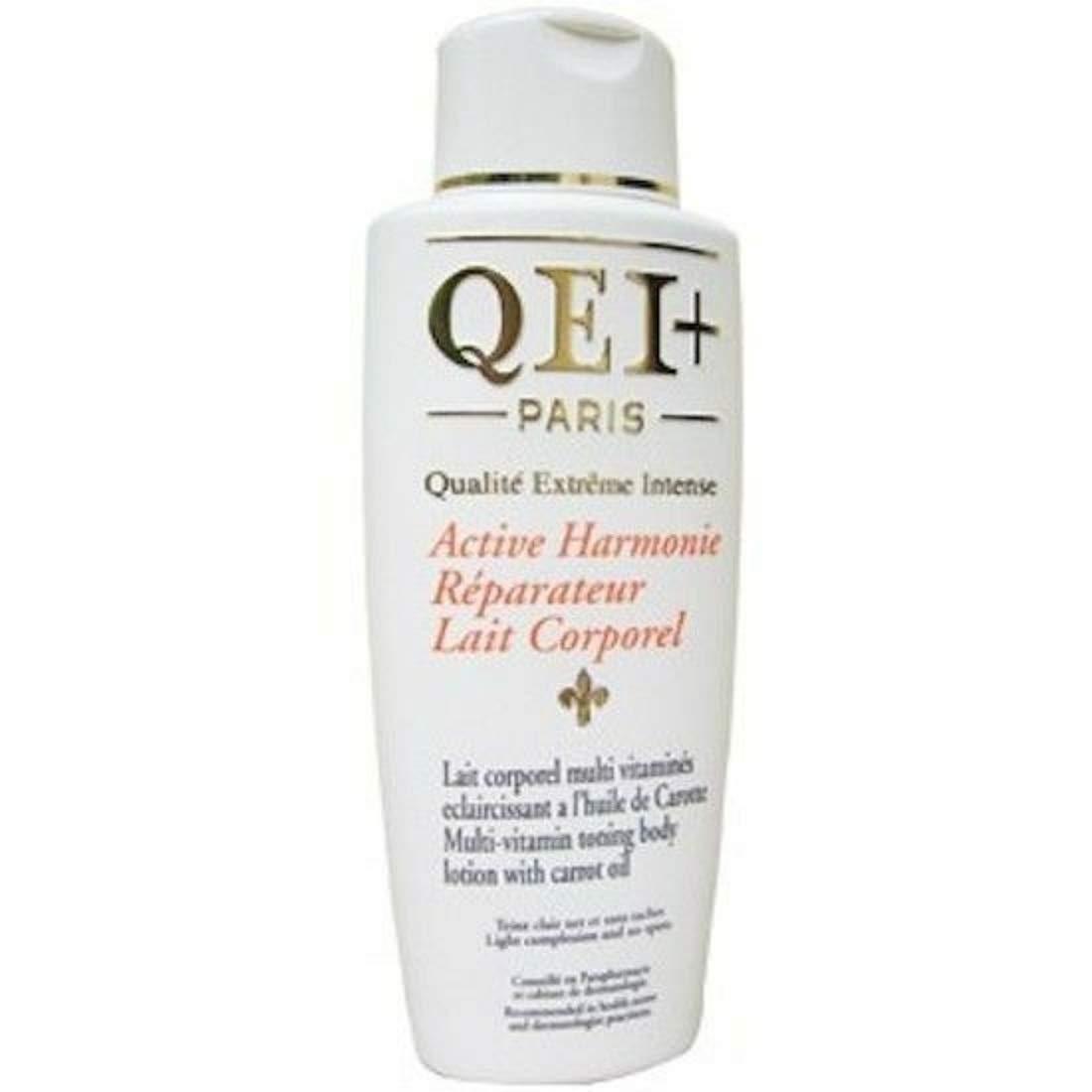 Qei+ Paris Active Harmonie Multi Vitamin Toning Body Lotion With Carrot Oil