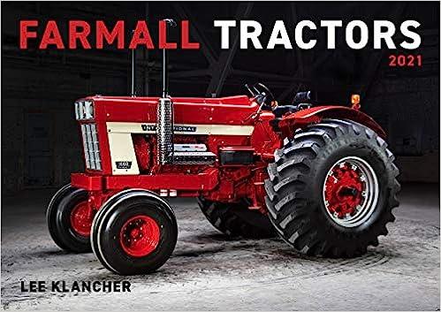 Amazon.com: Farmall Tractors Calendar 2021 (9781642340143): Lee