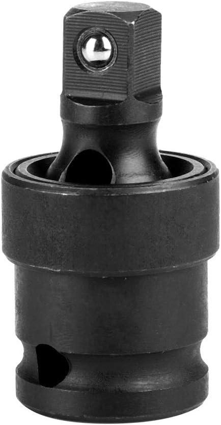 Junta universal - Unidad de tracción Adaptador giratorio de unión universal Impacto de aire Socket oscilante (tamaño : 1/2in)