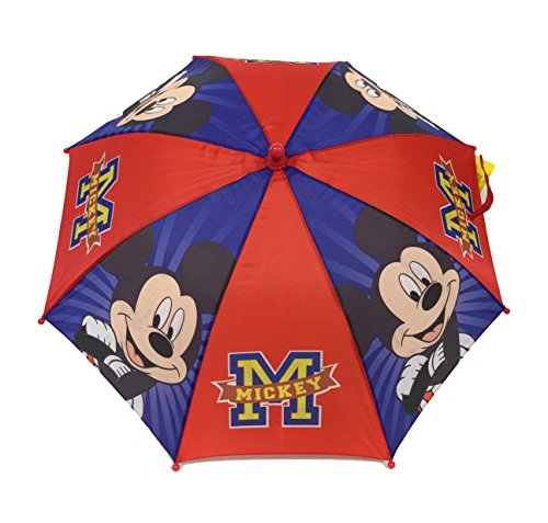 Mickey Mouse Colorful Umbrella Handle