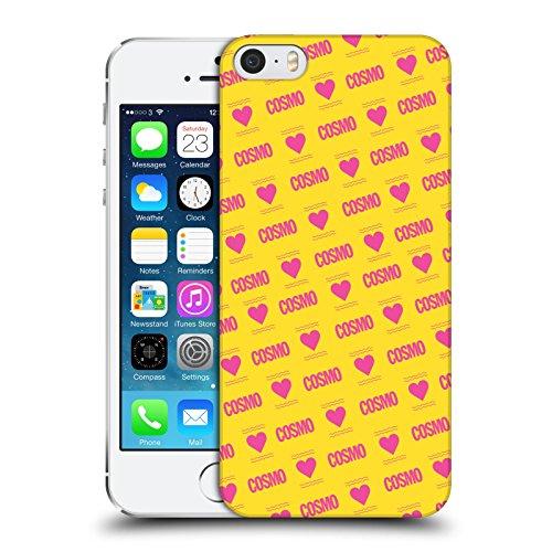 Official Cosmopolitan Pink Love Logo Hard Back Case for Apple iPhone 5 / 5s / SE
