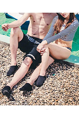 Breathable Black Anti Beach Socks Outdoor Soft Unisex Swimming for Aqua Water Surfing Shoes Yoga slip Exercise Cokar gYatwq