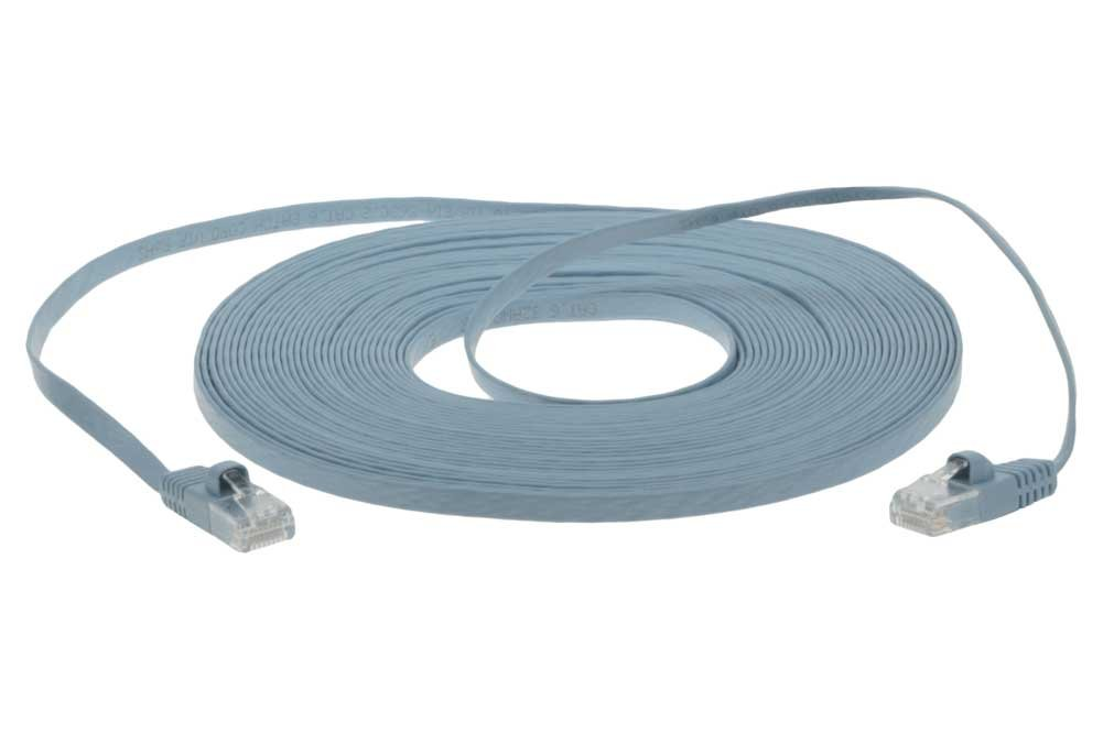Amazon.com: SF Cable 35 ft Premium Ultra Flat CAT6 550 MHZ Network ...