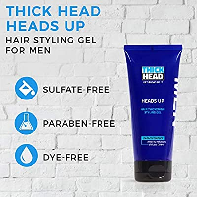 Thick Head Head's Up Styling Gel 6 oz