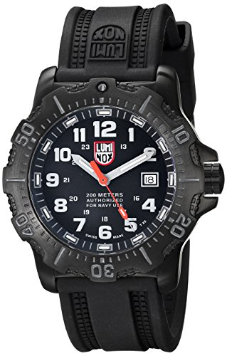 Luminox Men's 4221 ANU 4200 Series Analog Display Analog Quartz Black Watch