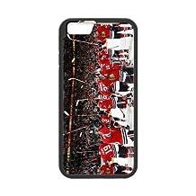 Generic NHL Chicago Blackhawks Back Phone Case for iPhone 6 Plus 5.5 inch