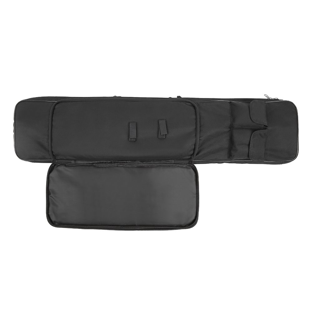 Festnight 95cm / 120cm Outdoor Hunting Gun Carry Bag Gear Protection Case with Adjustable Shoulder Strap, Black by Festnight (Image #3)
