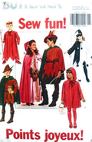 Butterick 5673 Halloween Peter Pan and more Costume Sewing Pattern All Sizes -