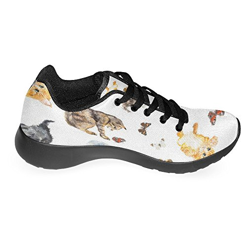 Comfort Running Sports Walking Go Lightweight Jogging Running InterestPrint Sneaker Multi Easy Womens 16 Shoes SqTxRT8pw