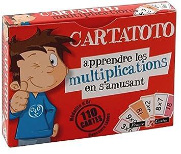 jeu de 110 cartes cartatoto multiplication fr jeux et