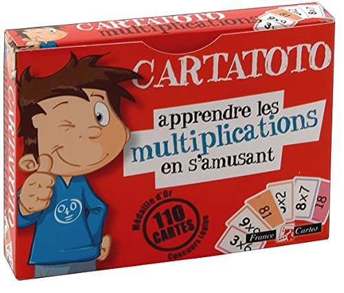 Jeu de 110 cartes : Cartatoto Multiplication product image