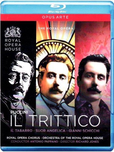 Antonio Pappano - Il Trittico (Blu-ray)