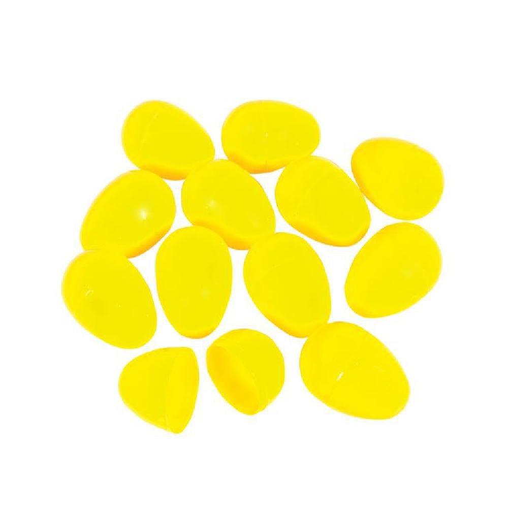 2.25'' Bulk Yellow Plast Easter Eggs (2000/Cs) by Bargain World