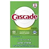 Cascade Powder Dishwasher Detergent, Lemon Scent, 75 ounces
