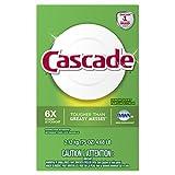 Cascade Powder Dishwasher Detergent, Lemon Scent, 75 Ounces