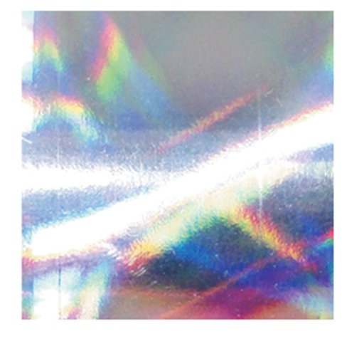 Foil Gift Wrap Paper 7-1/2 Inches Wide X 150 Feet Long Holographic Rainbow