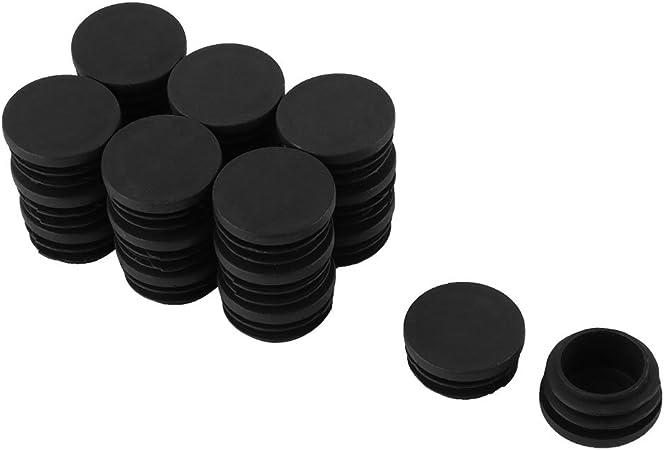 Sourcingmap Embout Patin 32mm Diametre Bouchon Pieds De Meuble Chaise En Plastique Tube Rond Inserer Lot De 20 Amazon Fr Bricolage