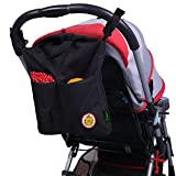 Kyпить SLC Baby Stroller Organizer Bag Waterproof Mummy Handbag Organiser with Shoulder Strap Cup Holders and Extra Large Storage Space for iPhones iPads Diapers Toys Wallet Bottle Baby Accessories на Amazon.com