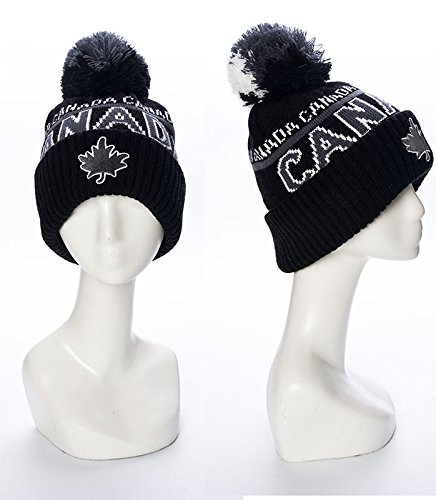 Robin Ruth - Black/Grey Canada Roots Unisex Beanie