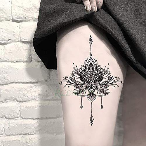 Tatuaje Impermeable de la Etiqueta engomada 4pcs del Collar de ...