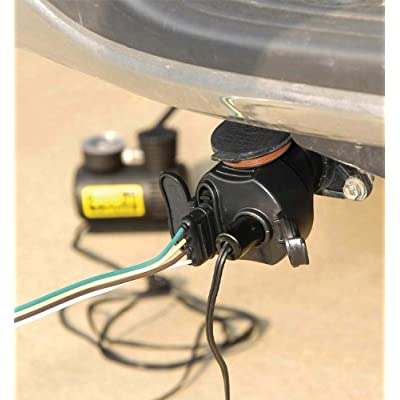 Hopkins  Endurance Flex-Coil 7 RV to 6 Pole Round Adapter: Automotive