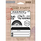 Basic Grey Mint Julep Clear Stamps By Hero Arts-Charming 7 Images offers