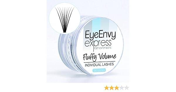 eyeenvy Fluffy volumen Flare individual pestañas Express pestañas ...