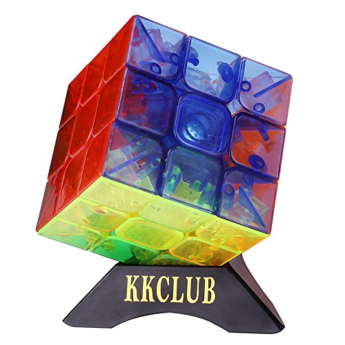 3x3x3 YJ Yulong Transparent Color Stickerless Cube puzzle Moyu - 2