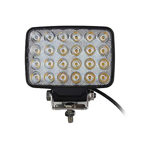 Barra de luz LED de luz de trabajo 72W LED, proyector de luz de ...